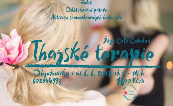 Od června – Thajské terapie v Yoga cafe každé první úterý v měsíci