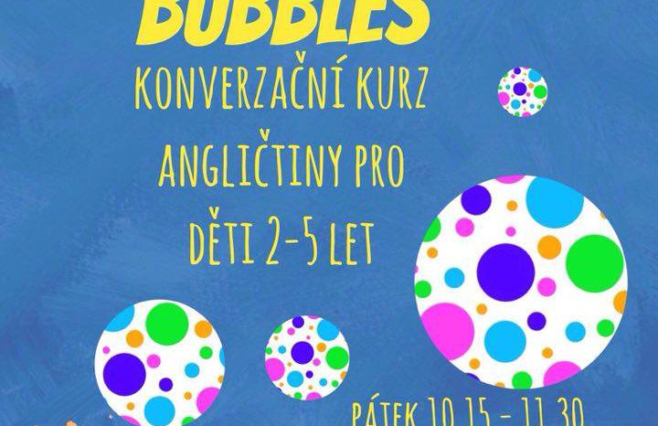 Bubbles – konverzační kurz angličtiny pro děti
